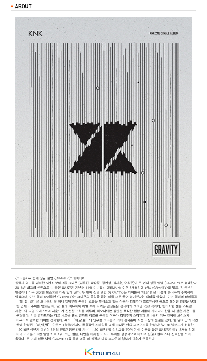 KNK - Single Album Vol.2 [GRAVITY]
