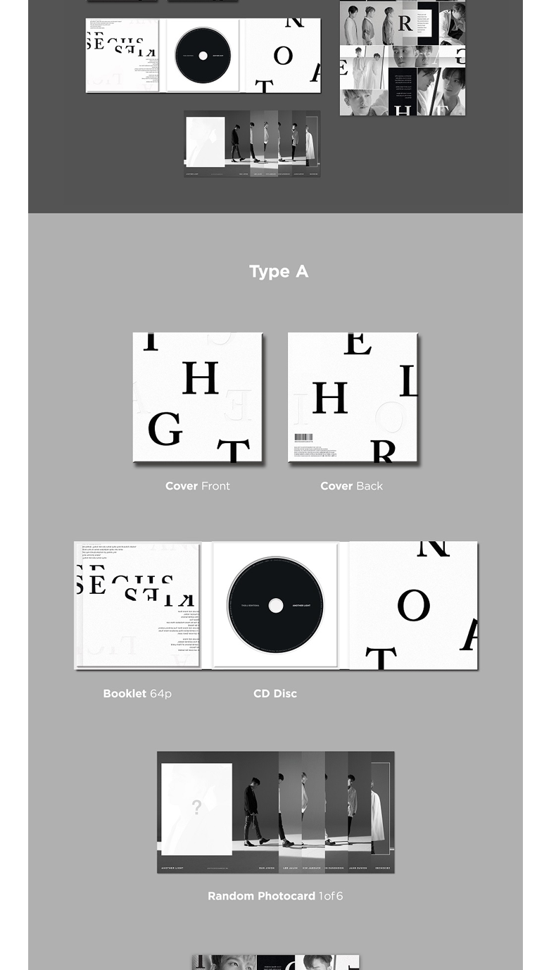SECHSKIES - Album Vol.5 [ANOTHER LIGHT] (Random Ver.)