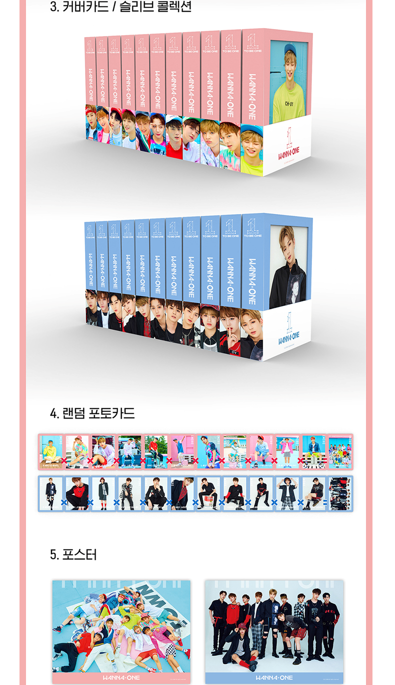 WANNA ONE - Mini Album Vol.1 [1x1=1(TO BE ONE)] (Random Ver.)