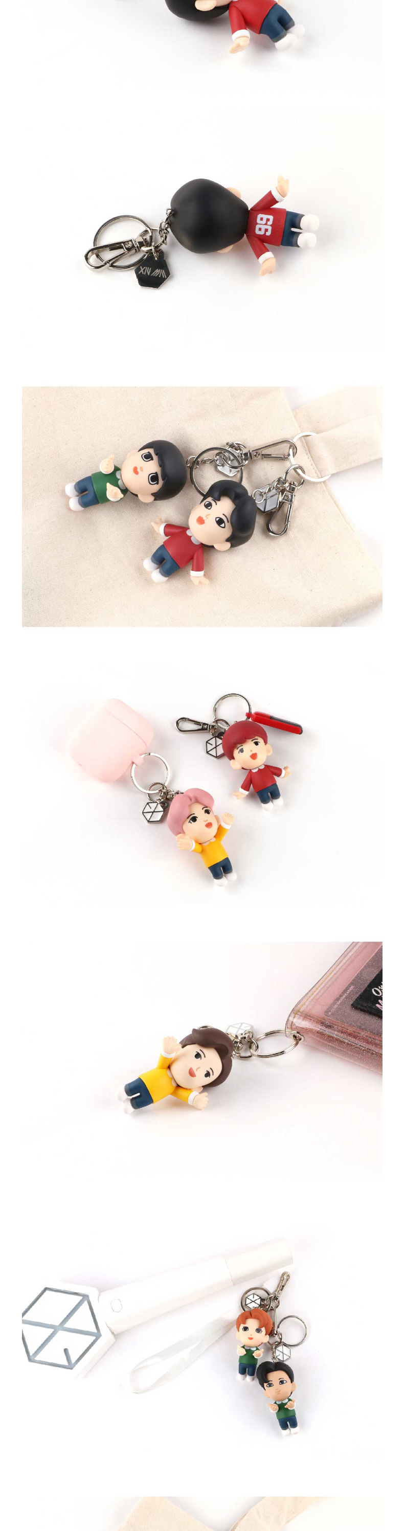 EXO - FIGURE KEYRING (BAEKHYUN) (Mirror included)